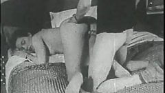 vintage - strange in my bedroom circa 1950