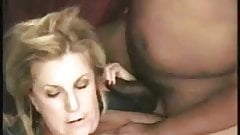 Hot Mature Blonde Cougar Anneke Gets Two BBC