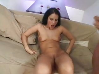 Cute babe gets HUGE facial after anal