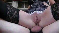 Mature Maid anally fucked