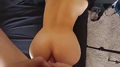 Cum in the Ass of a Blonde Angel