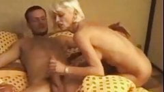 I am Pierced granny with pussy piercings gets ass drilled ha