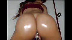 brazilian with monster ass twerking on dildo