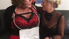 Dizzy Pantygagged by Mistress!