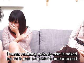 Japanese Friend Watches Surprise Blowjob