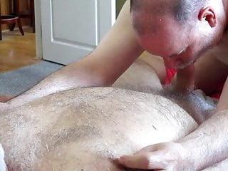 UNITED PECKER SERVICE Driver Feeds Me His Polar Bear Cock.