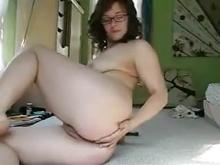 RUTHIE finger fucking her ass and cunt for all!