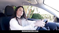 Submissived- Sexy Brunette Punished With Hard Cock