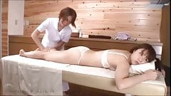 LESBIAN MASSAGE AND MASTURBATION