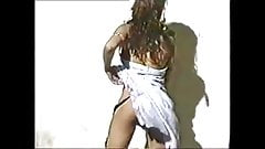 Kimona Strip tease ECW 1996