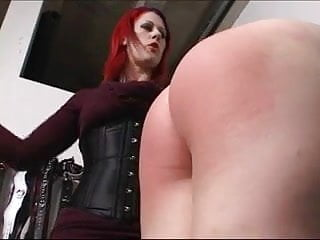 A naughty girl Spanked hard