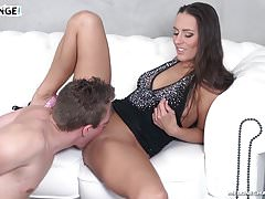Melonechallenge - Too horny dude cum on Mea Melone very fast