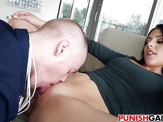 Megan Sage sage punishing her BF