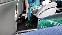 air hostess nylon legs