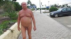 naked walk