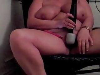 Big Breasted Chubby Beautiful Shaking Hitachi Orgasm