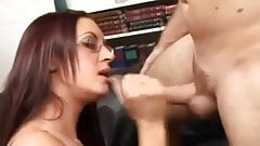 Papa - He bangs this babe in her office