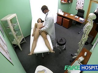 Fakehospital Slim Skinny Young Student Cums In For Check Up