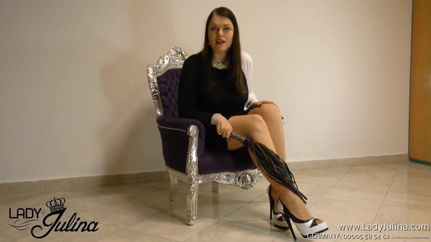 Fussherrin fusssklave fetisch high heels nylon pantyhose 8