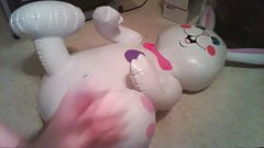 inflatable easter bunny hump