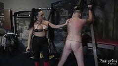 Heel Sucking Slut - Mistress Chloe and Her Boot Bitch
