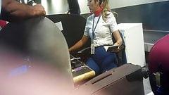 Pacotuda no aeoroporto