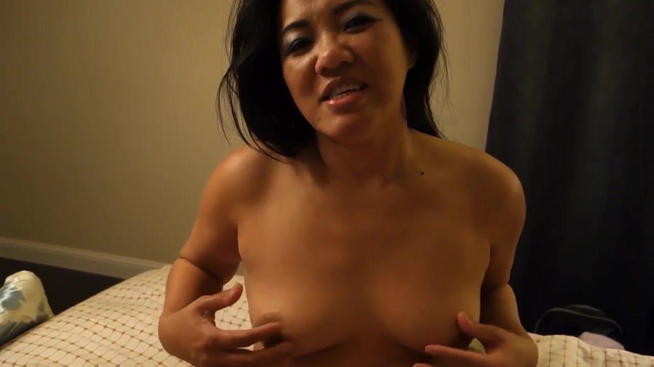 Sexy Chubby Asian Milf Masturbates