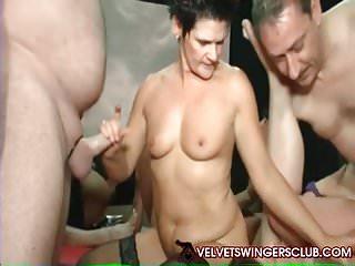 Velvet Swingers Club Amateur Mature MILFs sharing cocks