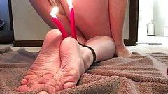 Master GHZ - Sissy Cassie - Feet & Wax