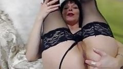 Silvana sexy MLF  finger in ass