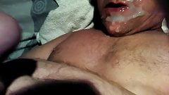 jbarths latest self facial with huge cum shot