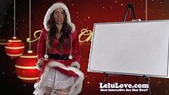 Lelu Love-December 2014 Cum Schedule