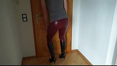 DWT - Trap - TV Nutte - Leggings - Beine - Boots - Stiefel
