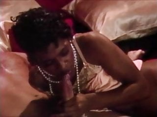 Beautiful Black slut sucks and fucks white cock