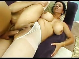 Mom's ass gets drilled