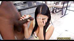 Little Asian goes black