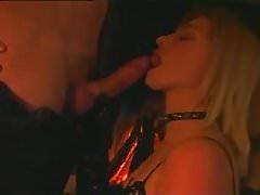 beautiful Angela Houston is one kinky horny slave