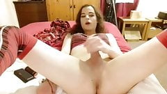 Lola wanking a great cock