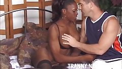 I have a big black tranny cock for your virgin ass