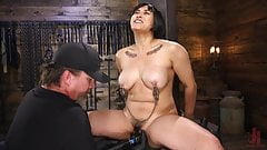 Mia Little is tormented to tears while in strict bondage