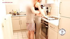 First Video - My Girlfriend have Fun in the Kitchen