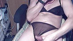 Sniffing panties