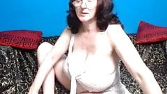 Grans tits on webcam