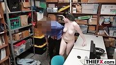 Busty Teen Stealer Gets Huge Dick