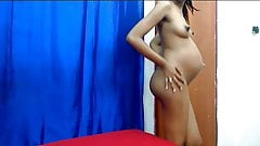 Hot Pregnant Webcam Girl - Big Puffy Nipples