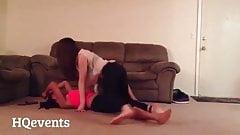 lesbians grinding