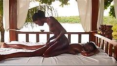 Ebony Lesbains Fist & Cum On Each Other