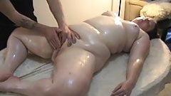 a leisurely massage