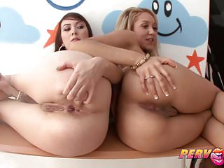 Pervcity Anal Threesome With Hot Step Sisters Kat And Tinsle