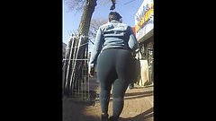 Candid Phat Jamaican Booty in Tight Pants